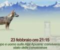 Lupo e uomo sulle Alpi Apuane